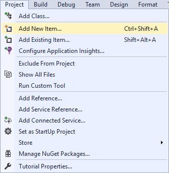 10-project-add-new-item