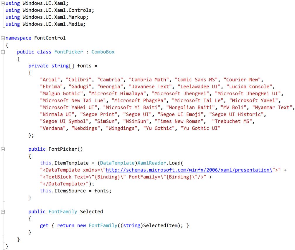 2015-font-control-combobox-code