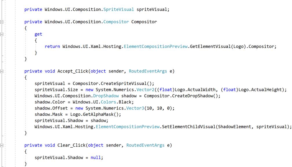code-shade-effect