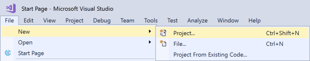 vs2017-file-new-project
