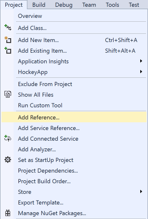 vs2017-project-add-reference