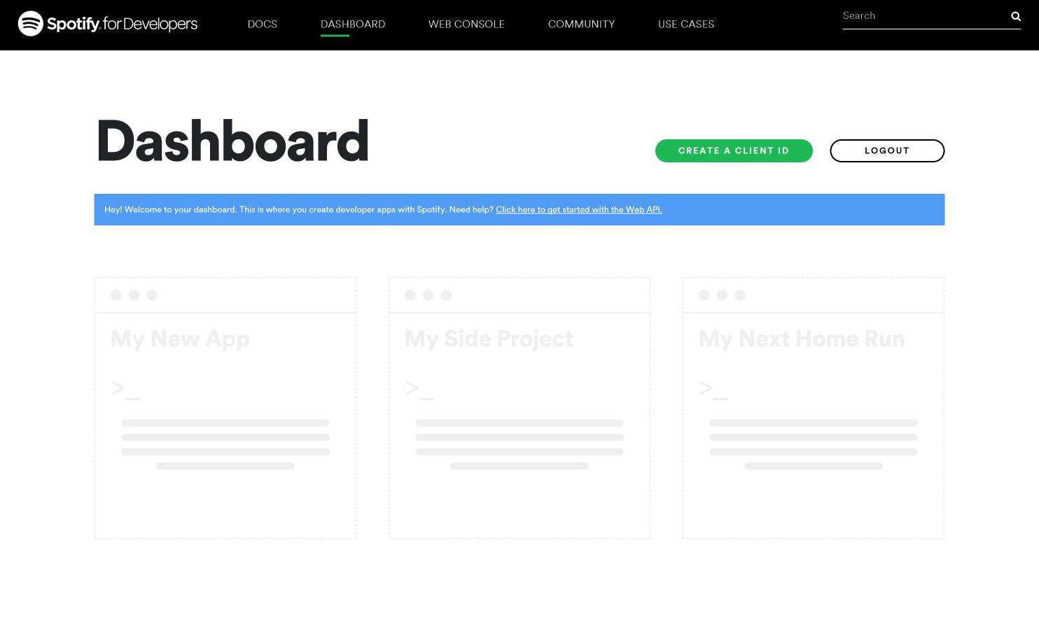 spotify-site-dashboard