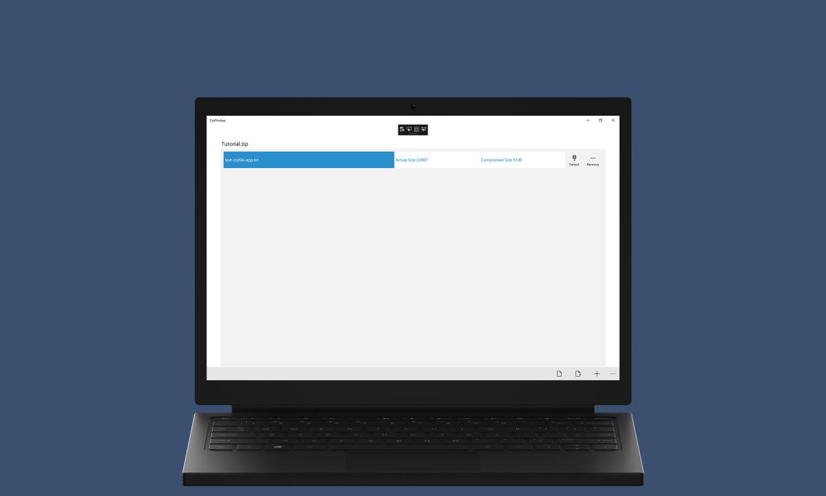 ZipFile App