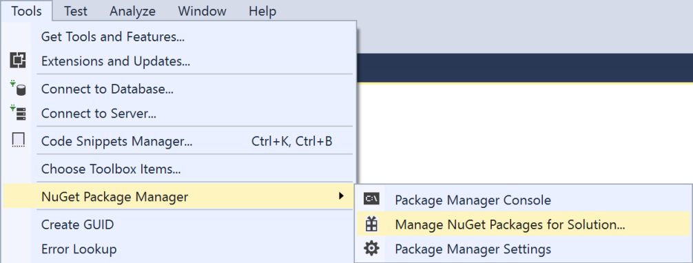 vs2017-tools-nuget-package-manager-manage-nuget-packages