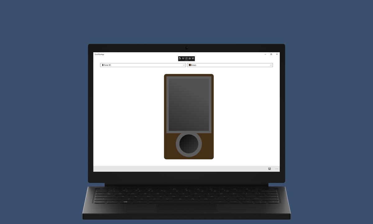 ZuneView App