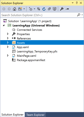 vs2017-assets-learning-app